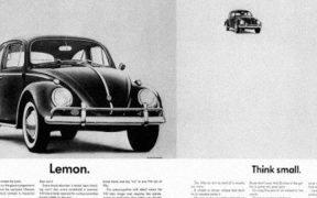 La imagen de Hitler viendo un modelo de Volskwagen escarabajo