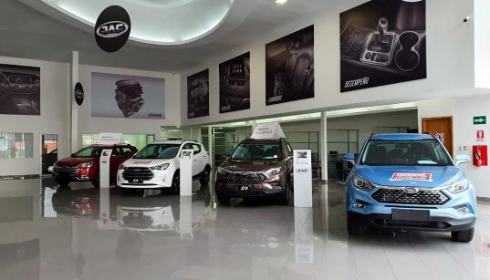 Starmotors matriz, el concesionario más grande de JAC Autos en Quito