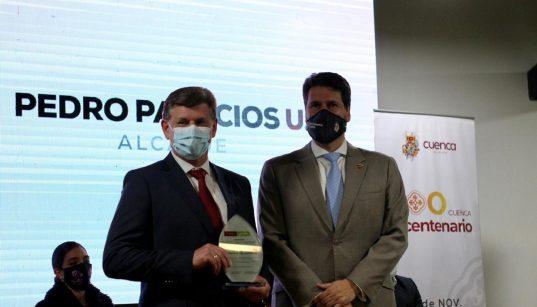 Continental Tire Andina recibe reconocimiento por parte del Municipio de Cuenca